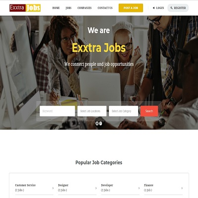 ExxtraJobs – Online Job Portal
