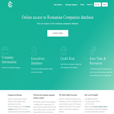 ROMANIANCOMPANIES.NET – Romanian Companies Database